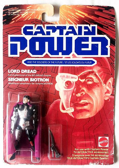 Captain Power Lord Dread Mattel 1987