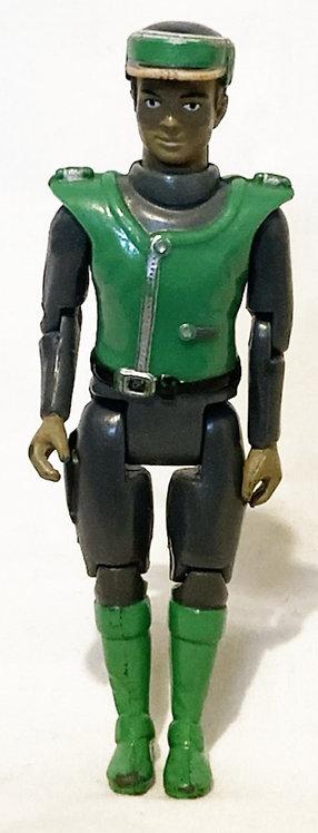 Captain Scarlett Lieutenant Green Matchbox 1991