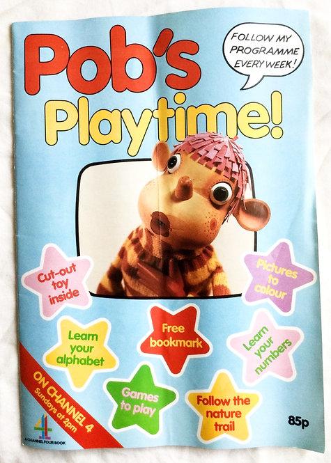 Pob's Playtime Comic Ragdoll 1987