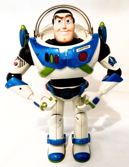 Buzz Light Year Figure Blue And Black With Sound FX
