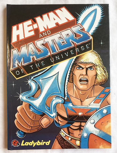 He-Man And The Masters Of The Universe Storybook 1985