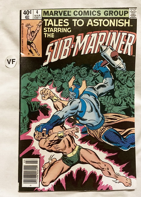 Marvel Tales To Astonish Sub-Mariner #4 March 1979