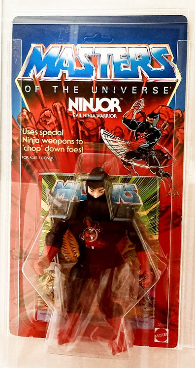 He-Man And The Masters Of The Universe Ninjor AFA 85% 1987
