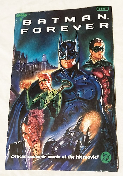 DC Batman Forever The Official Comic 1995