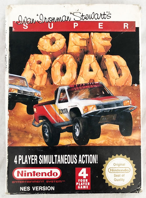 Nintendo Nes Super Off Road U.S.A. (NTSC)