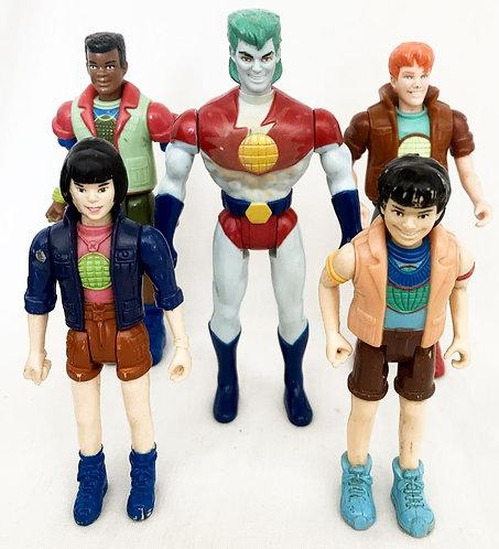Captain Planet Figure Set 1991