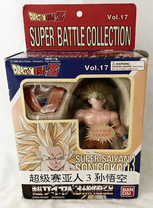 DragonBall Z Super Battle Collection Gold Hair Version SSJ3 Goku Vol 17