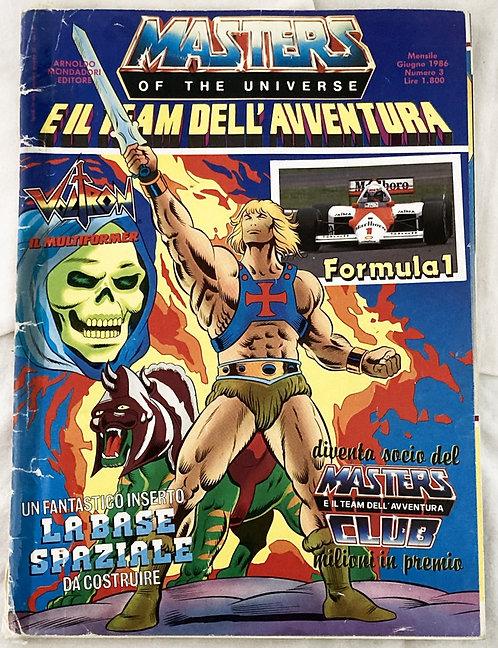 He-Man Masters Of The Universe E IlTeam Dell' Avventura Italy 1986