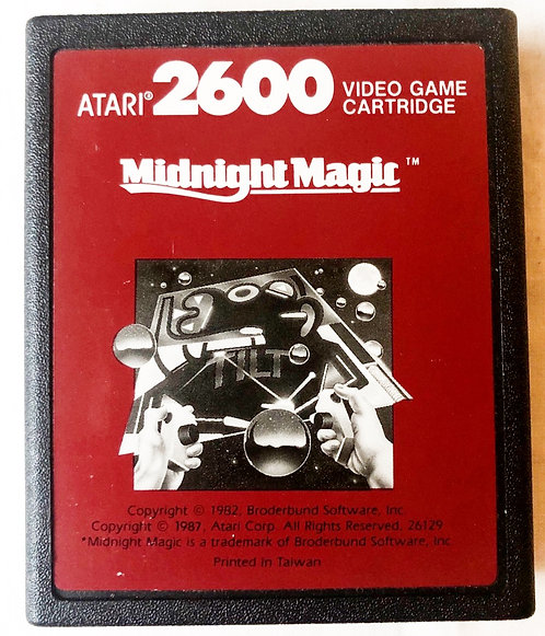 Midnight Magic Atari 2600 U.K. (PAL)