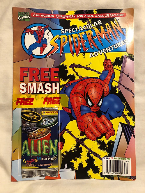 Spectacular Spider-Man Adventures No 26 Free Spidey Slammers October 1997