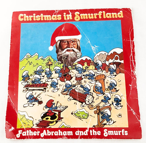 Father Abraham Christmas In Smurfland Vinyl Decca 1978