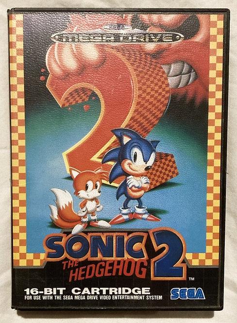 Sega Mega Drive Sonic The Hedgehog 2 (Pal) 1992