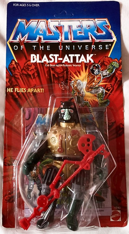 He-Man And The Masters Of The Universe Blast-Attak Hong Kong Mattel 1986