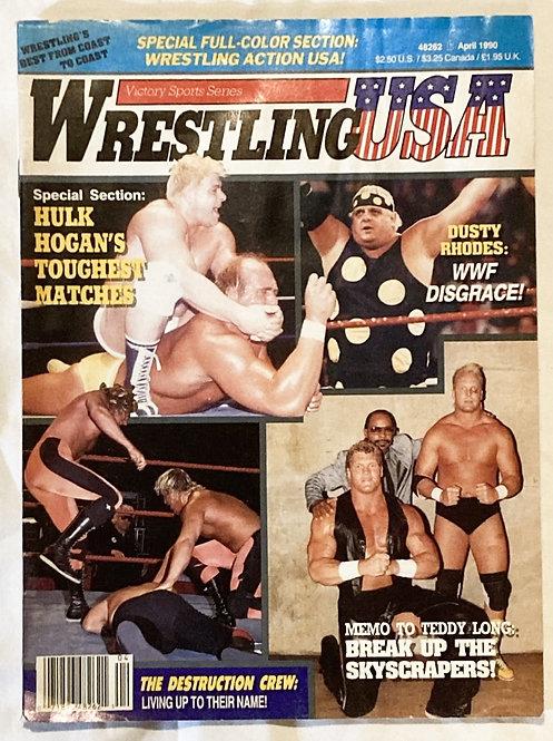 Wrestling USA April 1990
