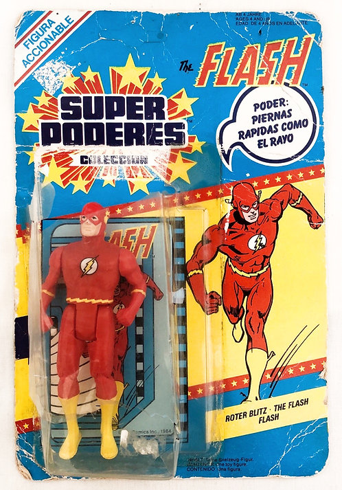 The Flash Super Powers Figure Kenner 1984