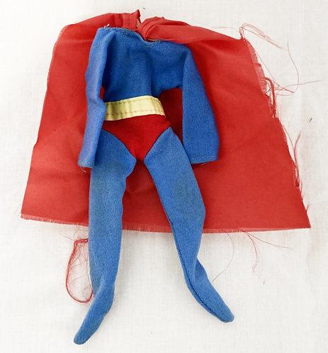 Vintage Superman Costume Mego 1974
