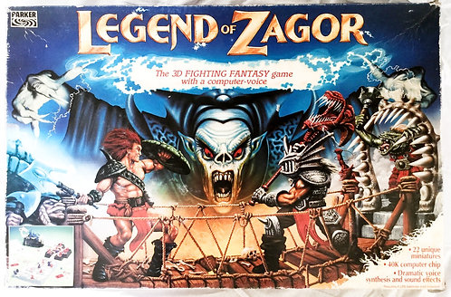 Legend Of Zagor Game Parker