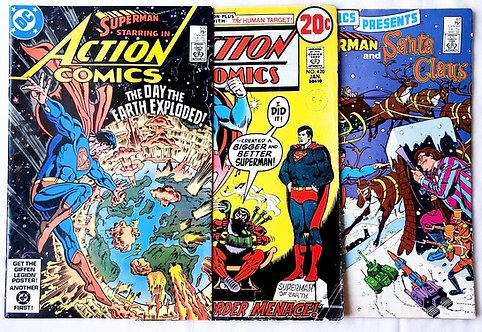 Vintage Superman Comic Set