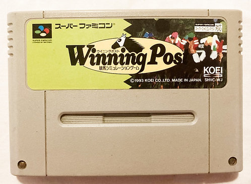 Nintendo Super Famicom Winning Post