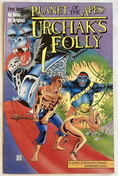 Planet Of The Apes Urchak's Folly No 7 Adventure Comics 1990
