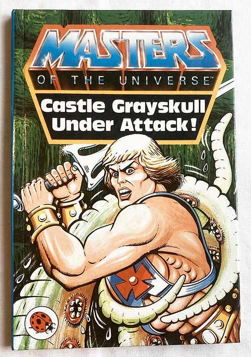 He-Man And The Masters Of The Universe Castle Grayskull Under Attack Boo