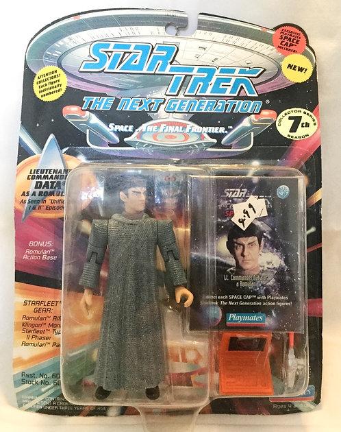 Star Trek TNG Lieutenant Commander Data As A Romulan