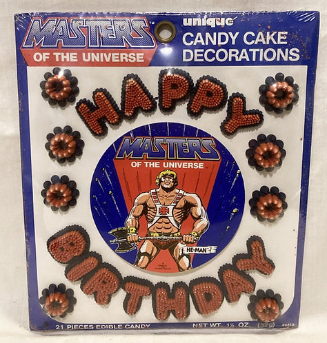 He-Man And The Masters Of The Universe Candy Cake Decorations U.S.A. Unique1983