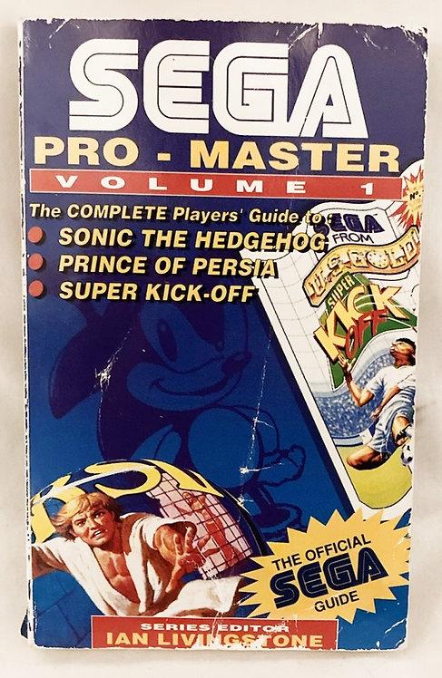 Sega Pro-Master Volume 1 The Official Game Guide 1992