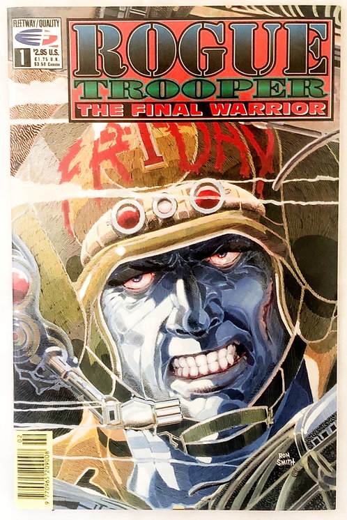 Rouge Trooper The Final Warrior #1 Comic Fleetway