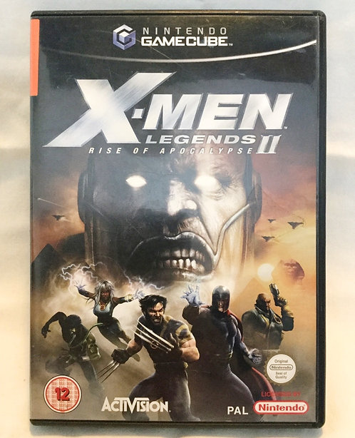 X-Men Legends II Rise Of The Apocalypse Nintendo GameCube UK PAL