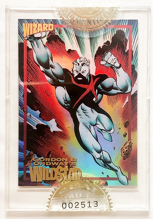 Wizard Magazine Limited Edition Sealed Gold Promo Card Wild Star 199