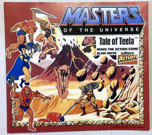 He-Man And The Masters Of The Universe Tale Of Teela Action Transfers 1983