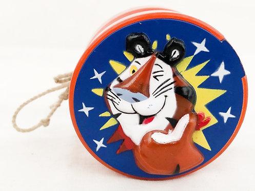 "Kelloggs' Frosties ""Tony The Tiger"" Yo-yo spinner 1993"