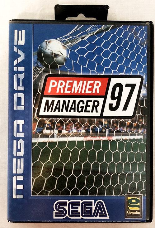 Premier Manager 97' Sega Megadrive U.K. (PAL)