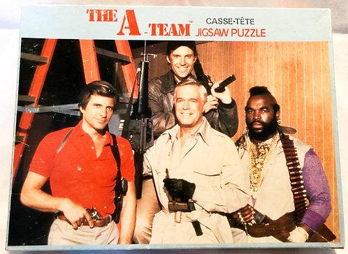 The A-Team 200 Piece Salters Jigsaws 1983
