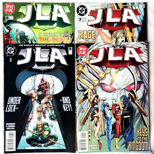 JLA Justice League Of America 6# 7# 8# 9#