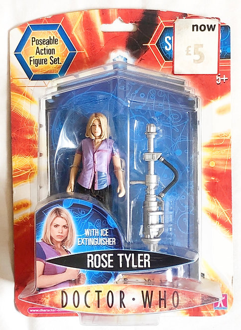 Doctor Who Rose Tyler With Ice Extinguisher