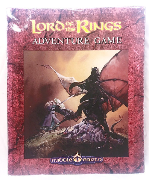 Vintage Lord Of The Rings - Adventure Games