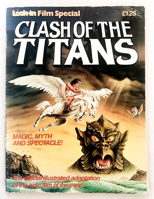 Clash Of The Titans Look-in Film Special 1981