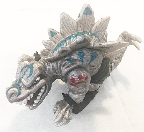 Street Sharks Extreme Dinosaurs  Savage Stegz Figure Mattel 1996