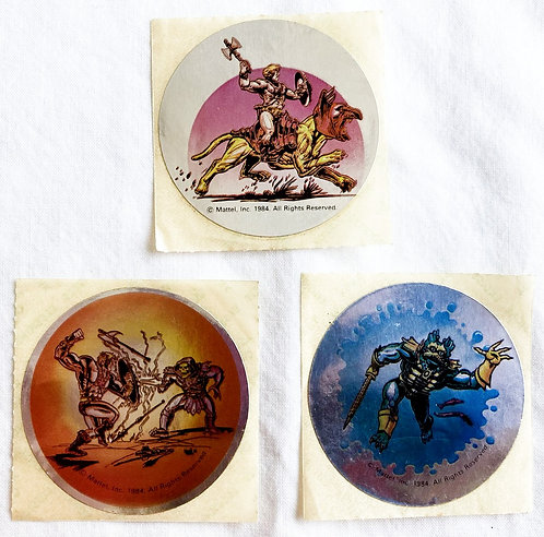 He-Man And The Masters Of The Universe Vintage Sticker Set Mattel 1984