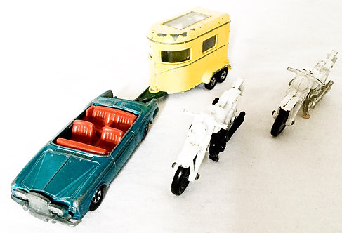 Vintage Lesney Matchbox Super Fast Set
