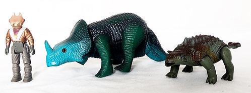 Dino-Riders Dinosaur Set Tyco 1988