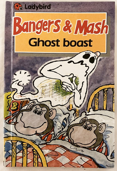 Bangers And Mash Ghost Boast Story Book Ladybird 1984