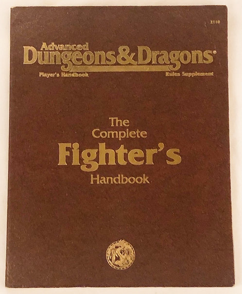 Advanced Dungeon & Dragons The Complete Fighters Handbook 1989