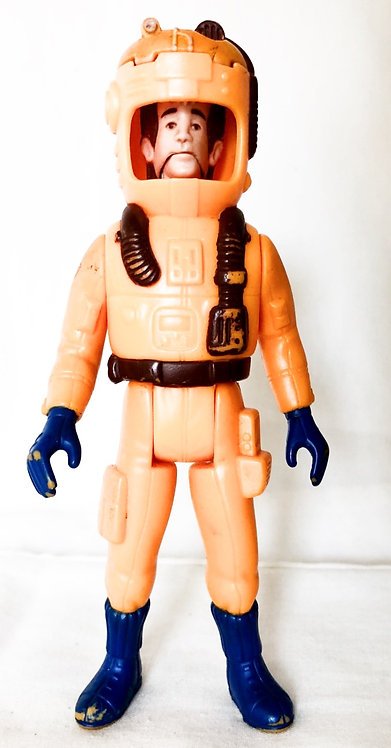 The Real Ghostbusters Peter Venkman Snake Head Ghost Figure 1987