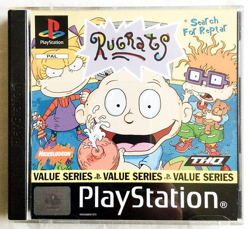 Sony Playstation PS1 Rugrats Search For Reptar THQ 1998