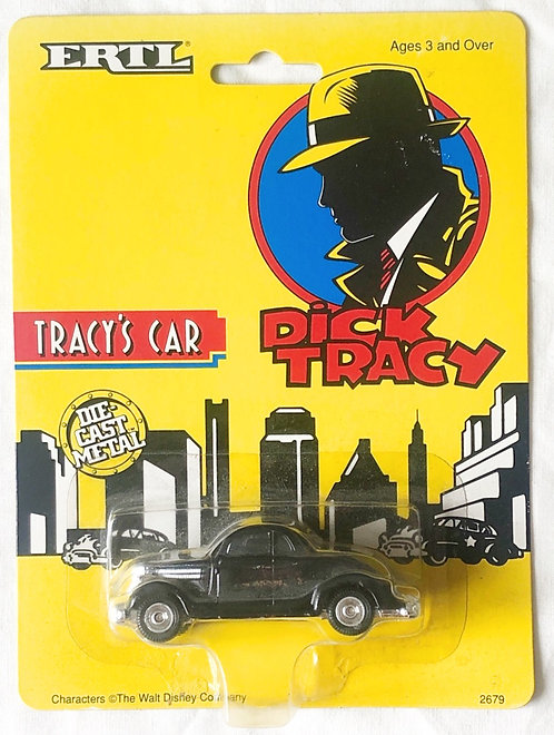 Dick Tracey Car ERTL 1990
