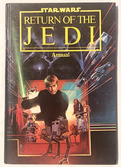 Vintage Star Wars Return Of The Jedi Annual  1983