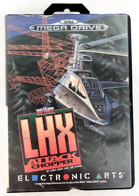 LHX Attack Chopper Sega Megadrive U.K. (PAL)